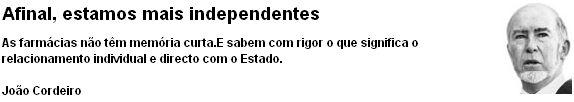 João Cordeiro no Diário Económico