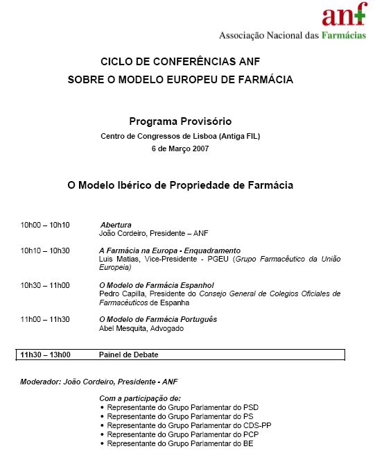 Conferencias ANF