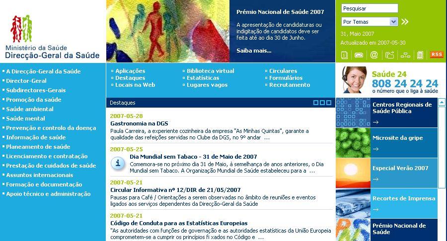direcção geral da saude ministerio da saude portugal gastronomia