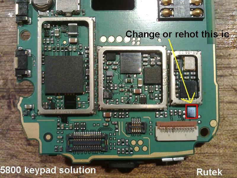 Nokia 5130 Keypad Ic Solution