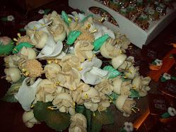 Bouquet de amêndoas.