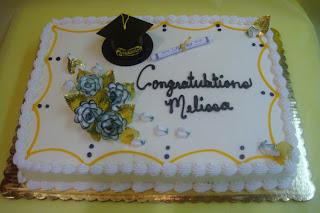 Special Graduation Sheet Cake