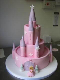 Beautiful Princess Castle Birthday Cakes Decorations