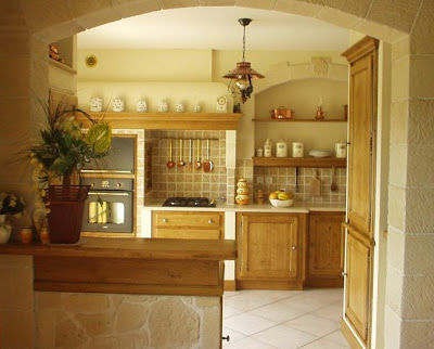 Old World European Kitchen Design Notes