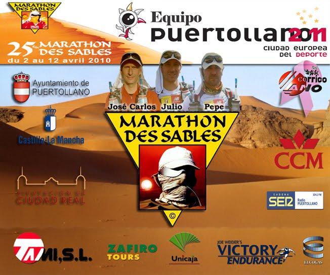 Equipo Marathon Des Sables. Puertollano 2011