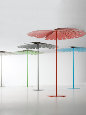 Modern Outdoor Umbrella Sun Shade · Click Above Image For A Large Detailed  View