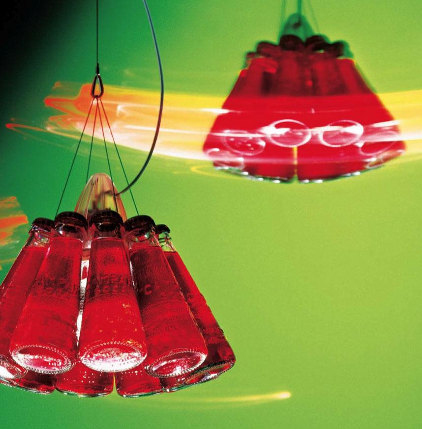 modern interior design: Ingo Maurer Campari Light Pendantlamp, Red ...