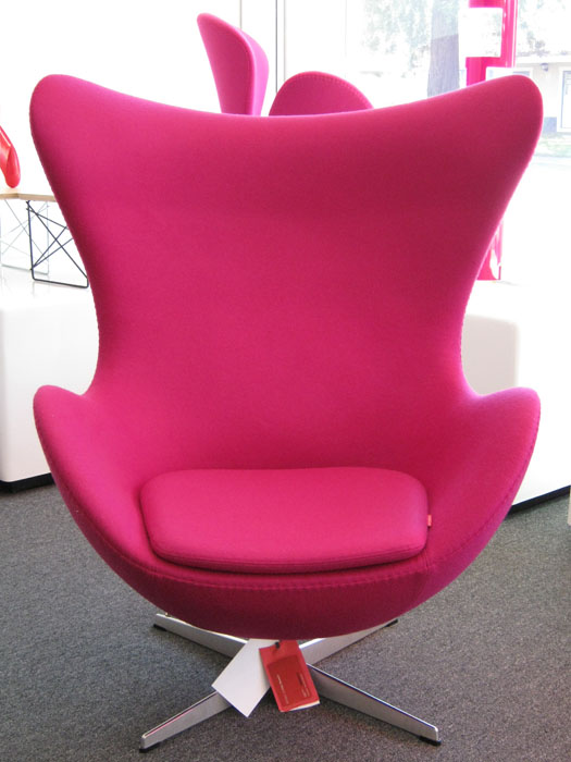 Original egg shaped egg chair lounge with comfortable for Egg chair original