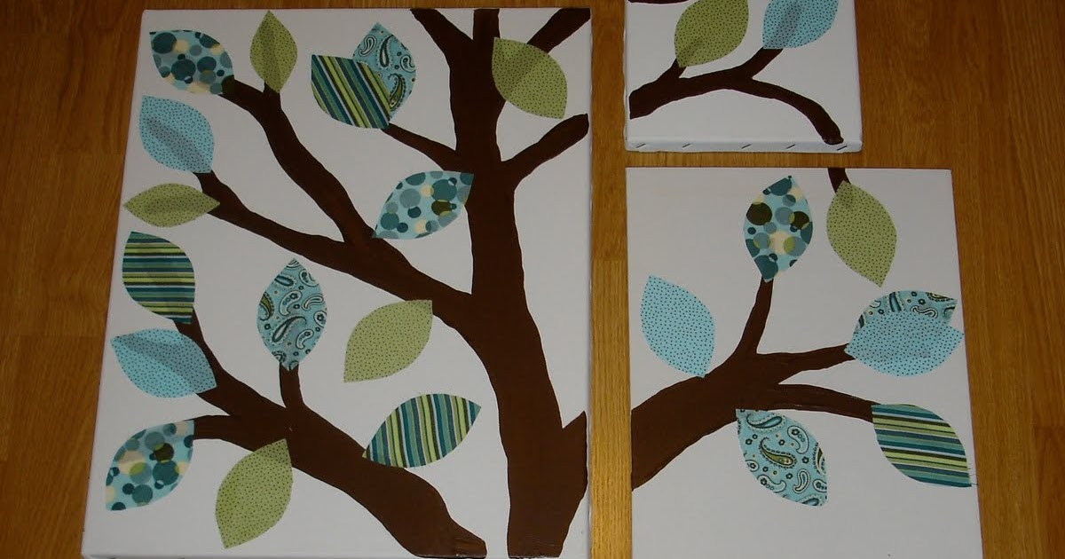jessica kenenske diy nursery tree art