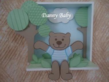 quadro para decoração de urso