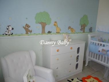 decoração de quarto de bebê de animais
