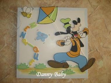 maternidade com Pateta da Disney