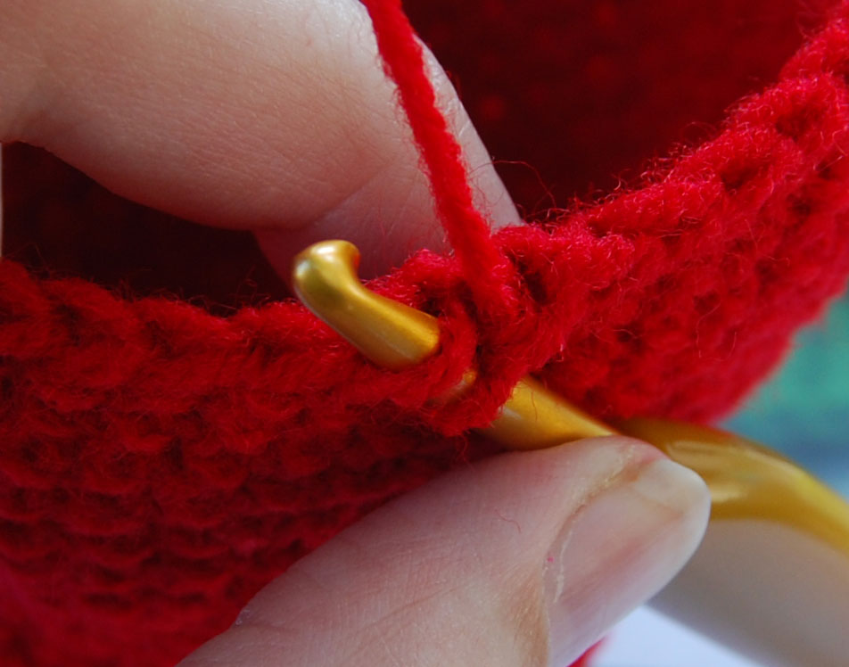 Crochet Stitch Invisible Decrease : ... Itsy Bitsy Spider Crochet: Short & Sweet Invisible Decrease Tutorial