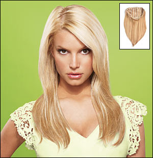 Hair extensions system from Jessica Simpson