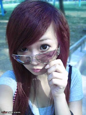 2010 Asian Kids Girl Emo Hairstyles