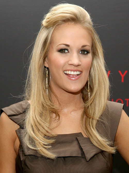 The style of front bangs is also popular in the layers as they offer a. Tips