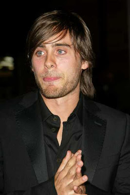 Male celebrity Jared Leto hairstyle