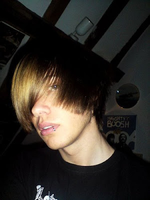 mens hairstyles emo. mens emo hairstyle