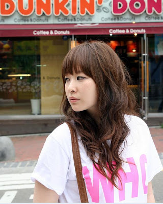 teen hairstyle pictures. cute Asian hair style 2009