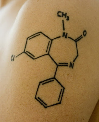 Cool science tattoos for men