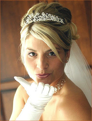 Choosing Bridal hair styles. There are some things that a bride should
