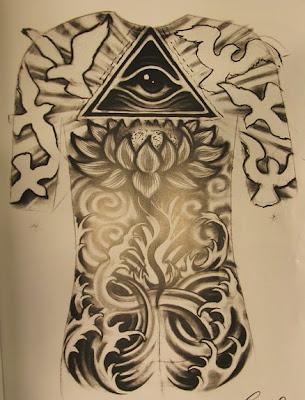 full back tattoo designs for women