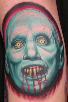 3d arm nosferatu tattoo
