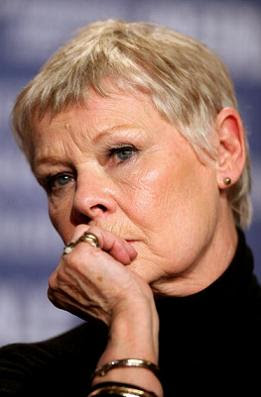 hairstyles come off as chic as this one on Judi Dench. Judi Dench ...