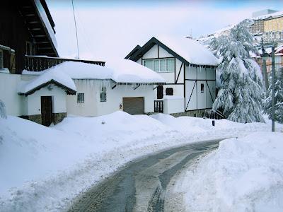 Fotos de la nevada de ayer - El duende blanco ...
