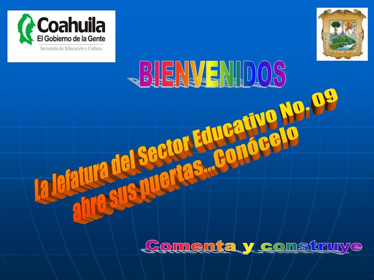 JEFATURA DE SECTOR EDUCATIVO No. 09