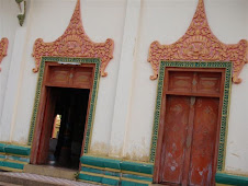 Traditional temple doors