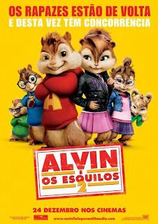 Alvin e os Esquilos 2 – Dublado