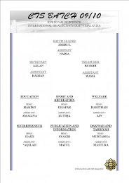 Carta Organisasi CTS 09