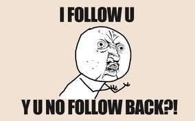 i follow u