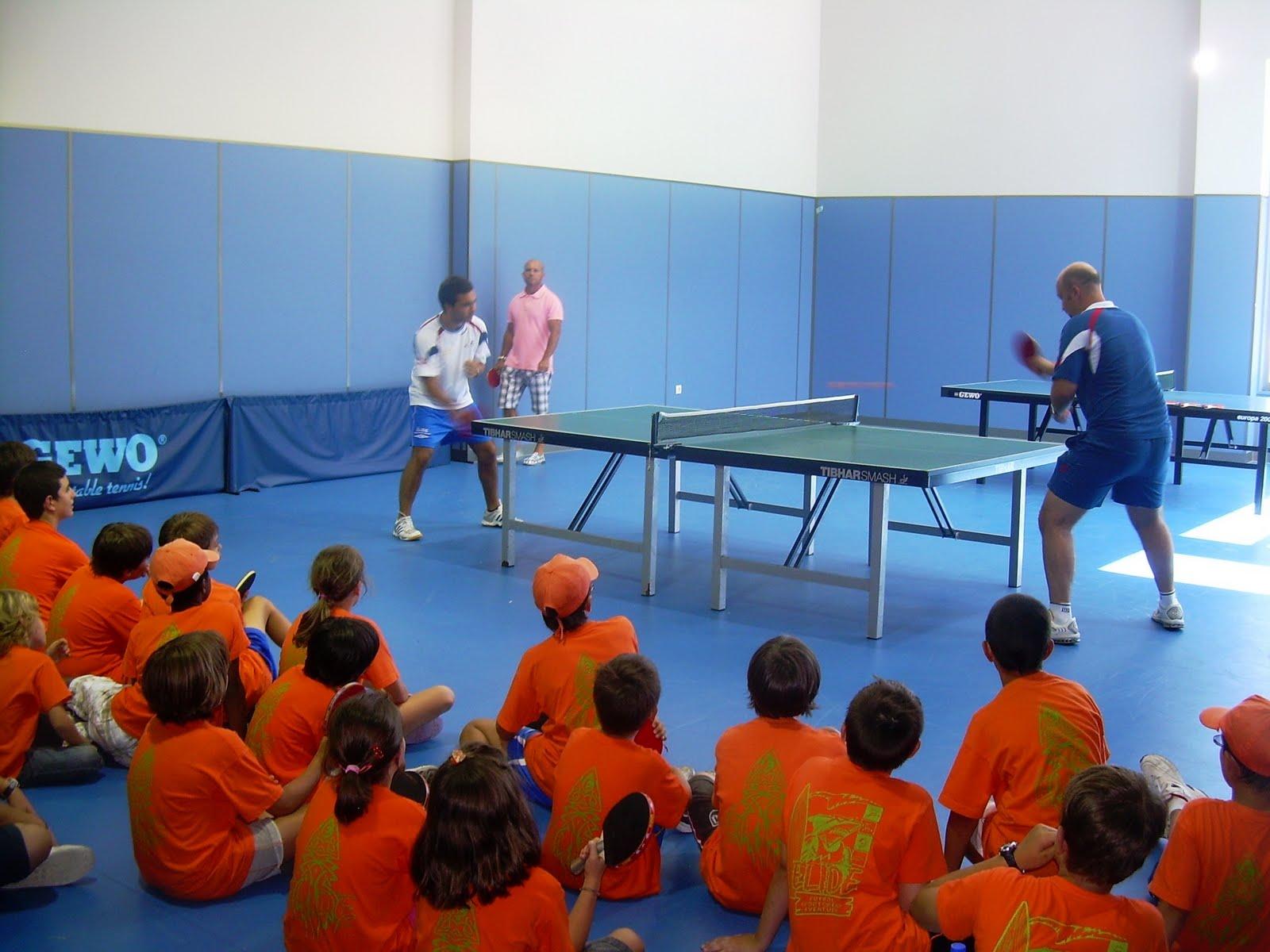 Tenis de mesa en lugo actividades for Madison tenis de mesa