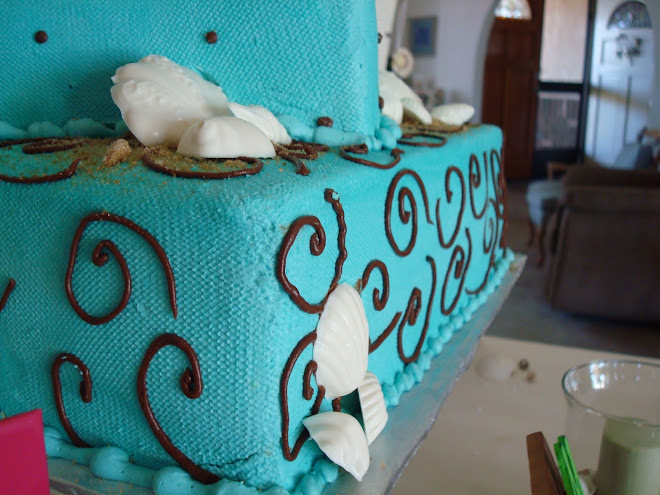 Melissa and RJ's Engagement Party Cake!