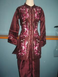 ... trend 2010 stelan baju muslim bahan shantung uk m h