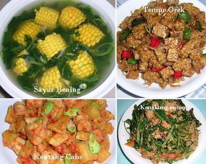 PUASA SAHUR Selama 1 Bulan Ramadhan - Aneka Resep Makanan dan Masakan ...