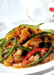 ANEKA MENU MAKANAN SAHUR BUKA PUASA Masakan Berbuka Resep Sapi Cabai Hijau