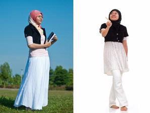 FOTO PEDOMAN MEMAKAI BUSANA MUSLIM