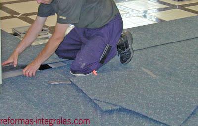 Instalar suelo de moqueta poner suelo de moqueta - Como poner moqueta ...