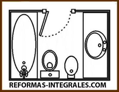 Reformas ba os barcelona c mo hacer que el cuarto de ba o - Como disenar un cuarto de bano pequeno ...