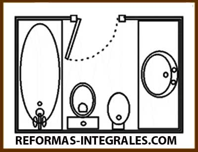 Reformas ba os barcelona c mo hacer que el cuarto de ba o for Planos de cuartos de bano pequenos
