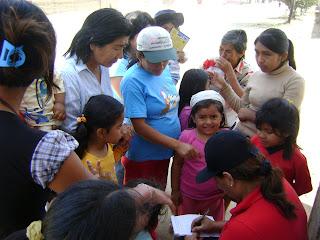 Imagen blog sornabique solidario en el alto moche Perú
