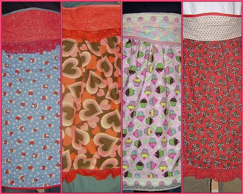 Aprons by: JillzWhimzy