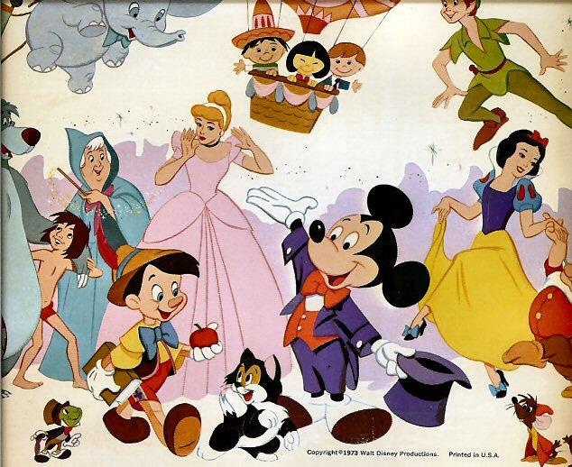 disney characters wallpaper. Disneyland Florida Characters.