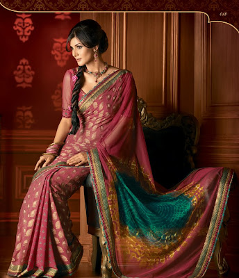 Pretty woman Designer Saree: