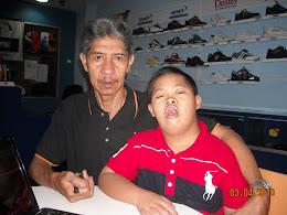 Saya & Uncle Abd..