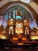 【ノートルダム寺院<br> in Montreal】