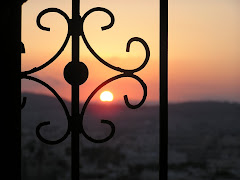 Posta de sol des del nostre refugi